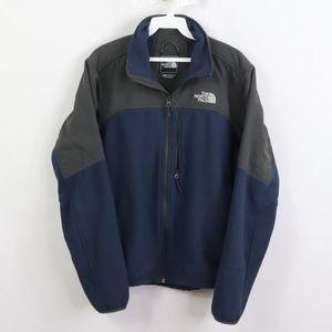 The North Face Mens Medium Spell Out Fleece Jacket